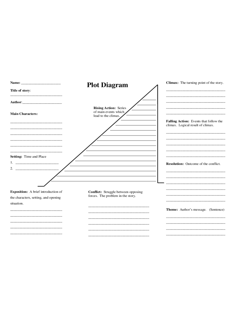 Plot diagram template 4 free templates in pdf word excel download blank plot diagram template ccuart Choice Image