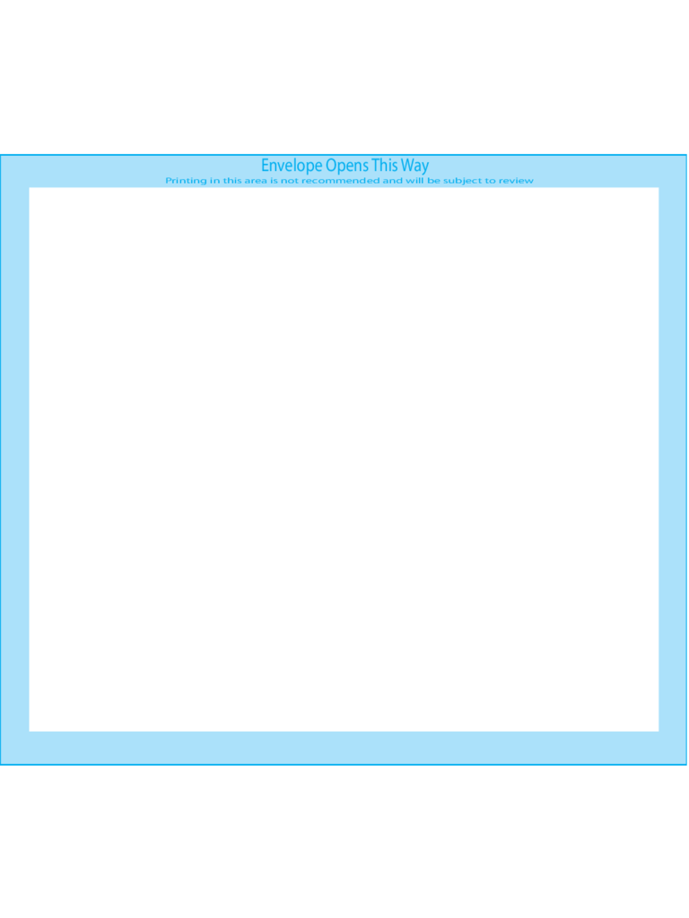 Pointed Flap Envelopes 5 1/2 BAR (4 3/8 x 5 3/4) - Front