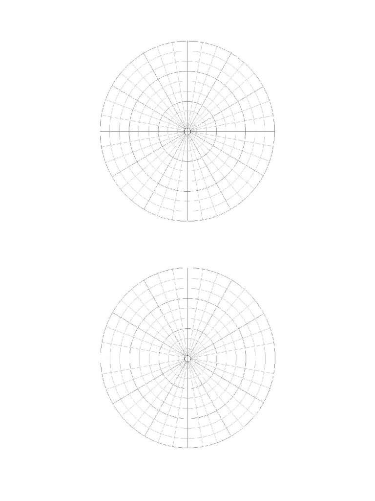 Polar Coordinate Graph Paper Sample