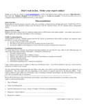Police Report Form - San Antonio Free Download