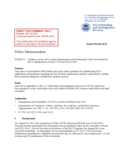 Sample Policy Memorandum - USCIS Free Download