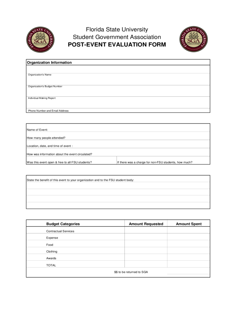 post event evaluation form 2 free templates in pdf word excel download. Black Bedroom Furniture Sets. Home Design Ideas