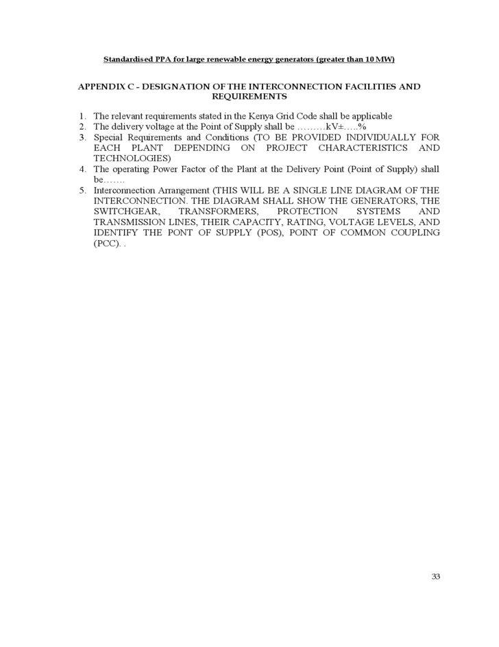 Assignment of power purchase agreement
