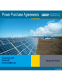 Sample Power Purchase Agreement - Federal Energy Management Program Free Download