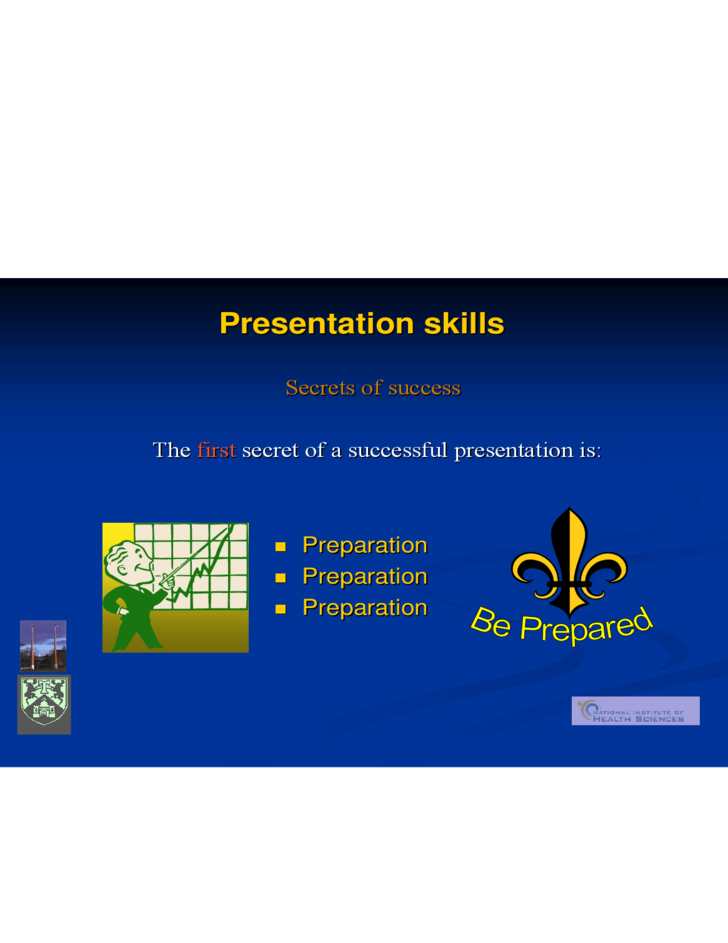 Presentation Skills Know What A Presentation Is And How It Differs