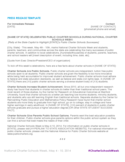 Press Release Template for Immediate Release Free Download