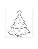 Printable Christmas Tree Coloring Pages Free Download