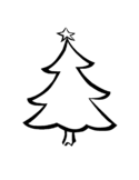 Simple Printable Christmas Tree Free Download