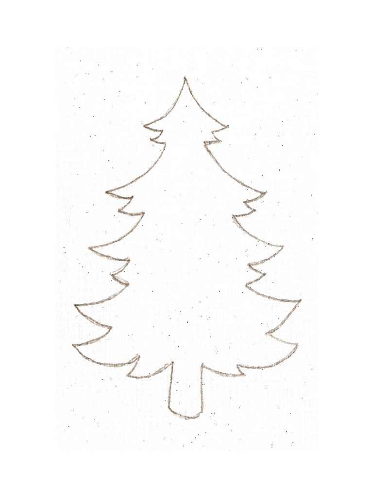 Printable Christmas Tree Example