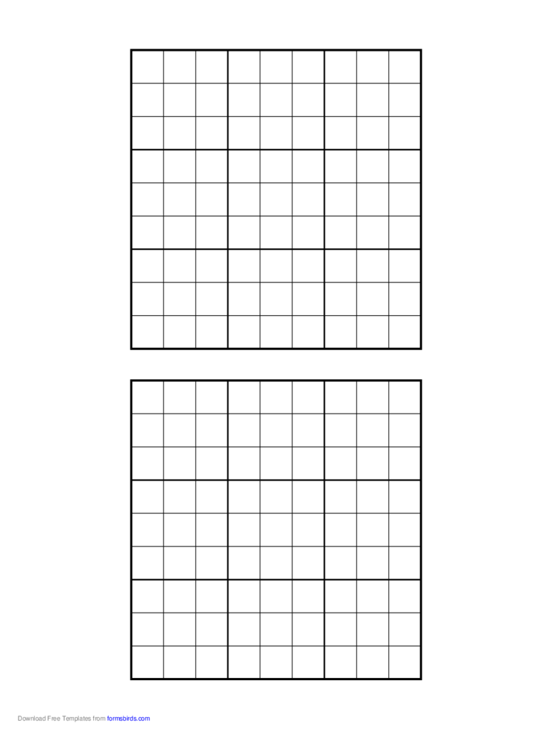 image about Printable Sudoku Pdf called Printable Sudoku Grids - 2 Absolutely free Templates inside of PDF, Phrase