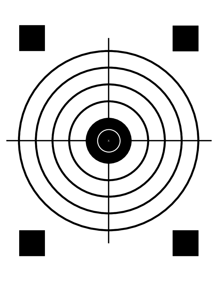 Simple Printable Targets