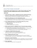 Privacy Policy Template and Checklist Free Download