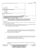 GC-112 Ex Parte Application for Good Cause Exception to Notice of Hearing
