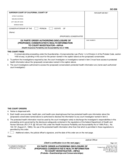 GC-336 Ex Parte Order Authorizing Disclosure of Conservatee's Health Information