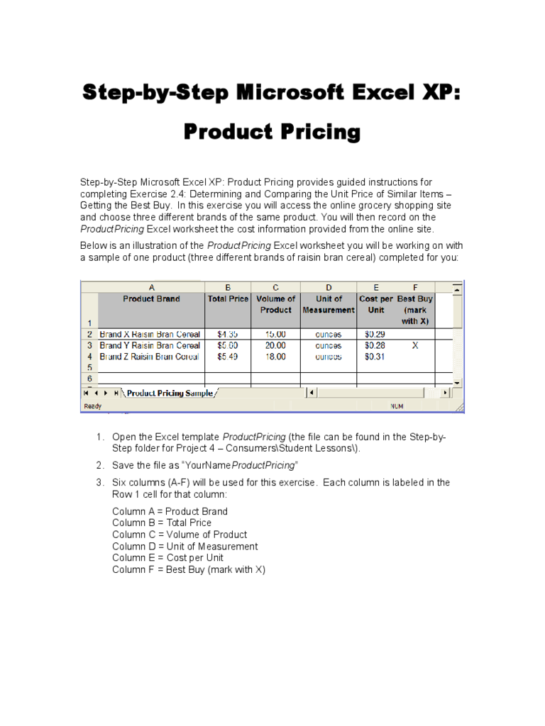 Product Pricing Calculator Template 4 Free Templates in PDF – Product Pricing Calculator