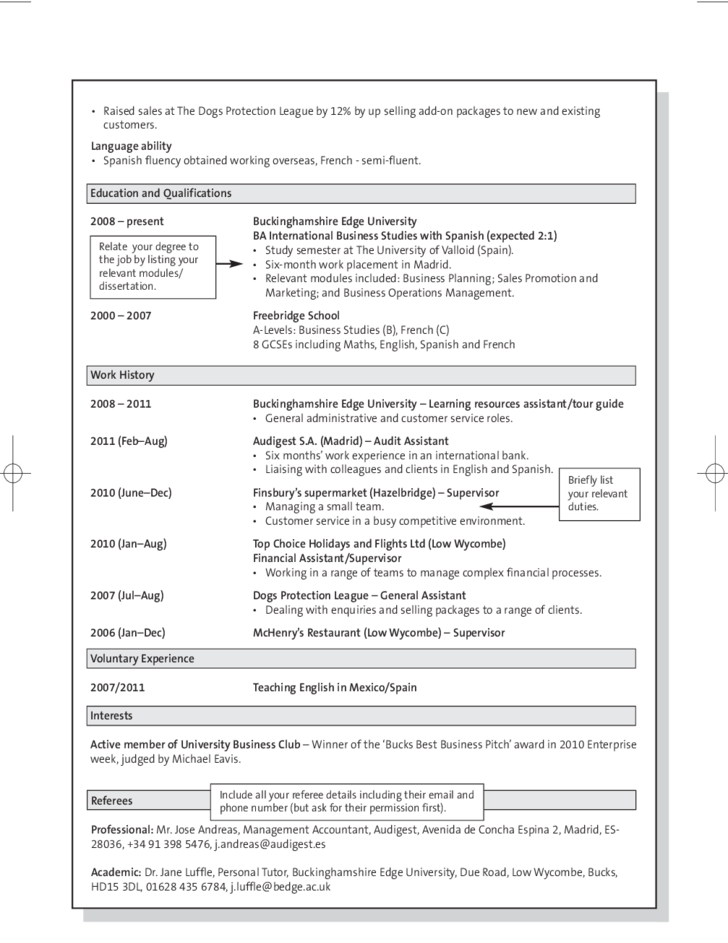 Example of a Skills-based CV Free Download