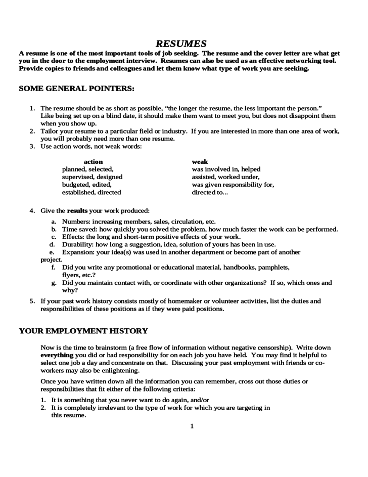 resume never had a job april onthemarch co