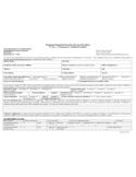 Program Proposal Form for Service Providers Free Download