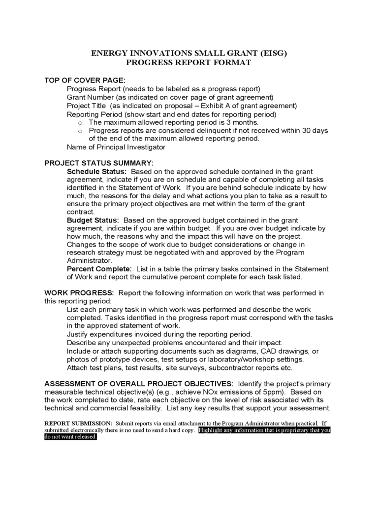 elegant technical report template best templates