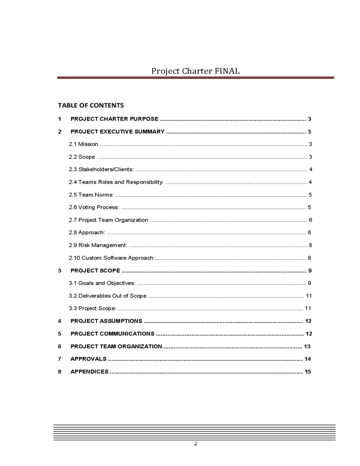 project charter document Executive summary vision the office of research is leading a major project to review and significantly improve the way this office and other central university.