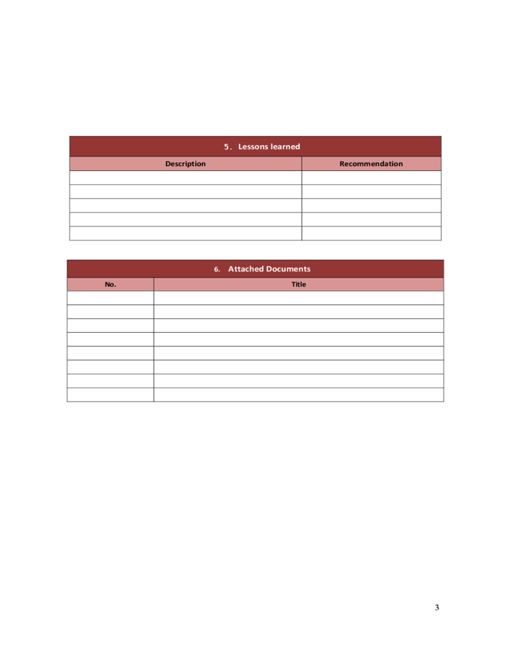 project closure checklist template .