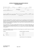 Contract for Project Management Services - Massachusetts Free Download