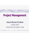 Sample Project Management PPT Free Download