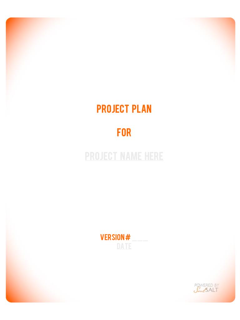 Generic Project Management Template