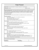 Project Proposal Sample Template Free Download