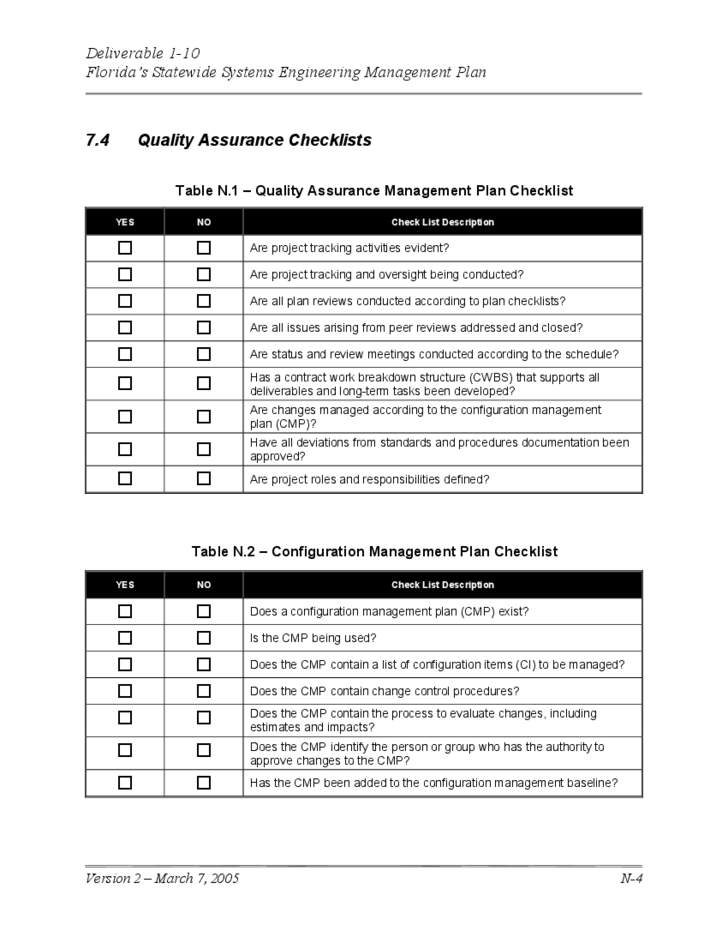 quality control policy template - quality management plan template free download