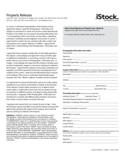 General Property Release Form Free Download