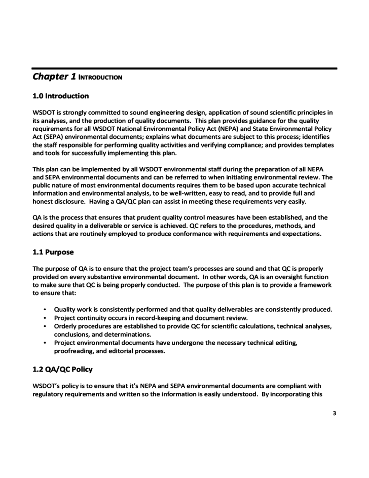 Quality Assurance Quality Control Guidance And Templates