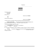 Quitclaim Deed Template - New Jersey