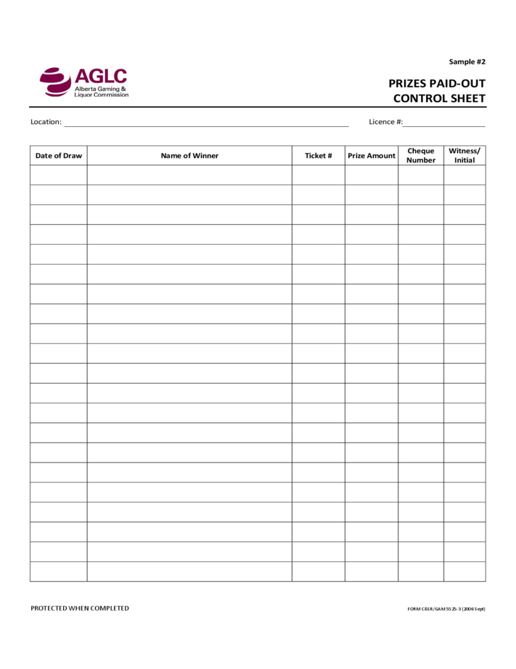 Printables Inventory Control Worksheet raffle ticket inventory control procedures free download 3 procedures