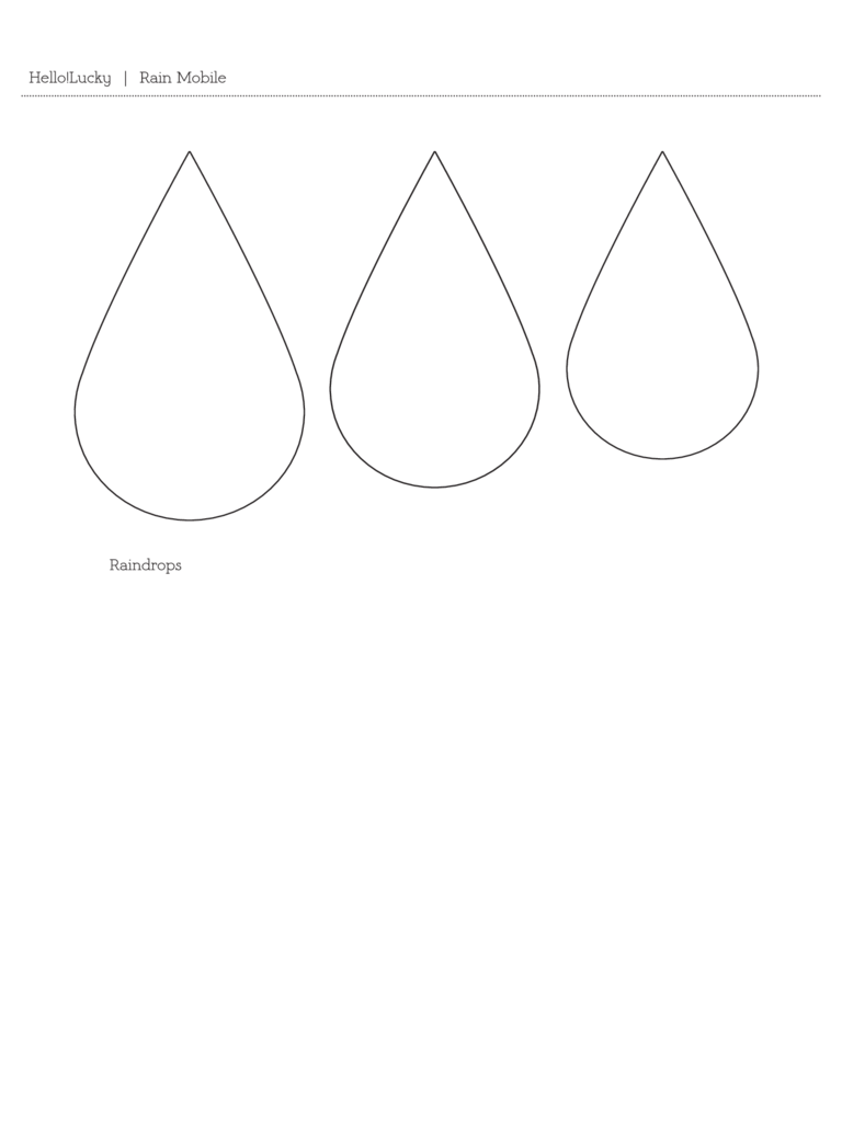 Raindrop Template 3 Free Templates in PDF Word Excel Download – Raindrop Template