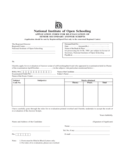 Application Form for Re-Evaluation of Senior Secondary Answer Scripts Free Download