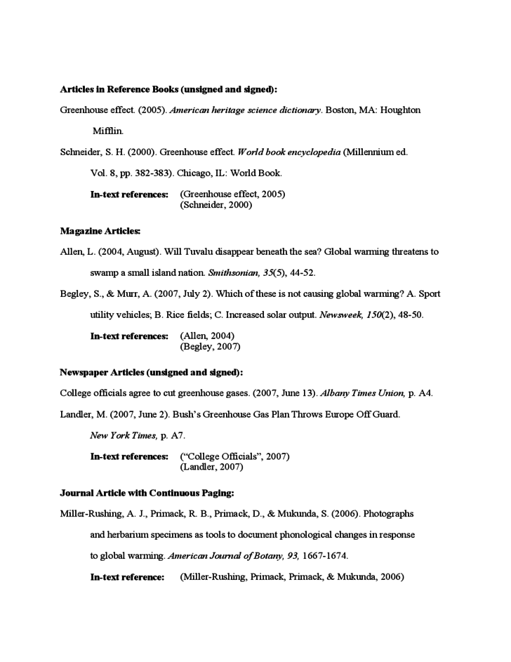 apa format reference master thesis