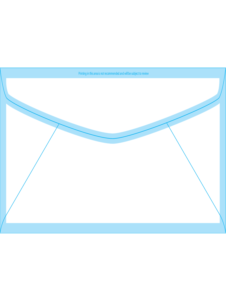 Regular Envelopes #11 (4 1/2 x 10 3/8) - Back