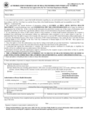 Authorization for Release of Health Information Pursuant to HIPPA - New York Free Download