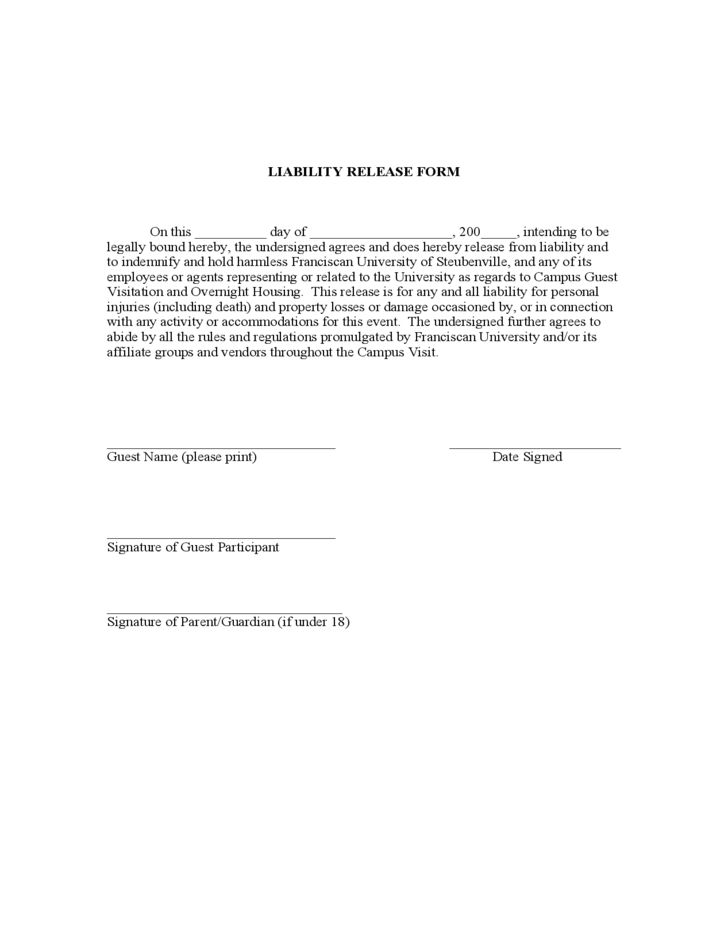 Doc.#12751650: Free Liability Waiver – Doc12751650 Liability
