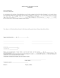 Release of Mortgage Form - Individual Free Download
