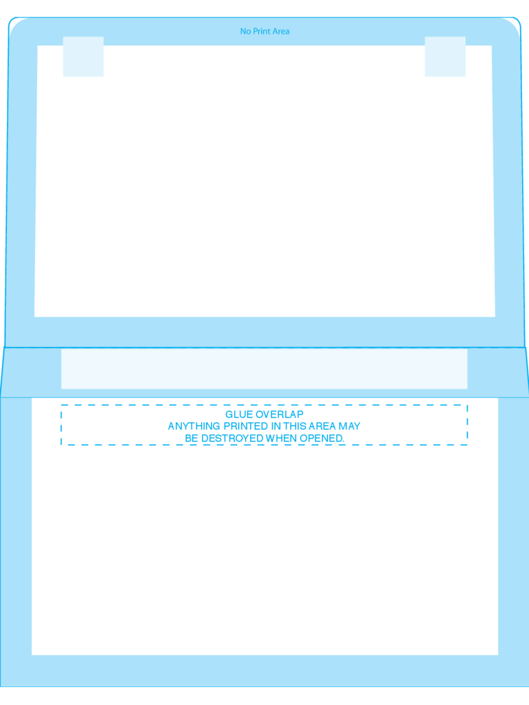 Remittance Envelopes #6 1/2 (4 1/4 x 6 1/2) - Back