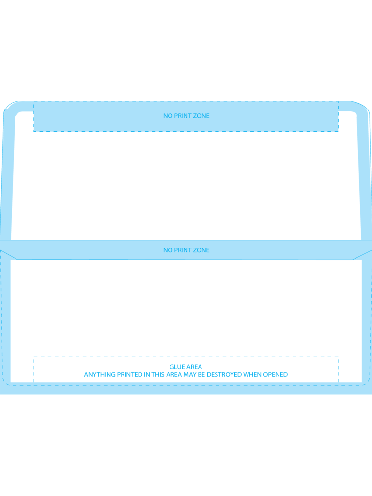 Remittance Envelopes #9 (3 7/8 x 8 7/8) - Back