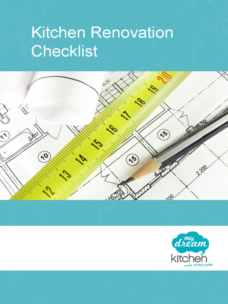 Renovation Checklist Template 2 Free Templates In Pdf Word Excel Download