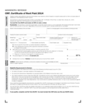 CRP, Certificate of Rent Paid 2014 - Minnesota Free Download