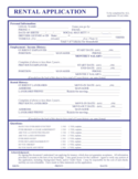 Maine Rental Application Form