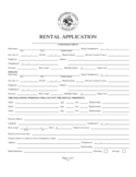 Rental Application - Montgomery Free Download