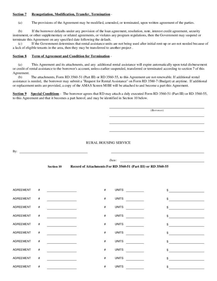 Rental Assistance Template Free Download – Rental Assistance Form