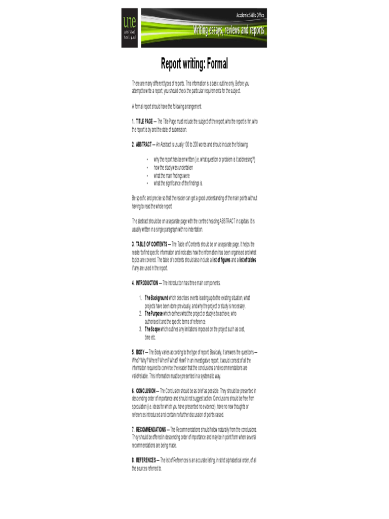 Report writing format template datariouruguay spiritdancerdesigns Gallery