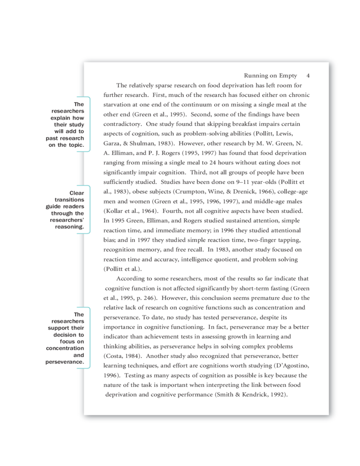 example of a research paper apa Sample apa paper for students interested in learning apa style before getting started you will notice some things about this paper first, everything is double-spaced second, margins are.